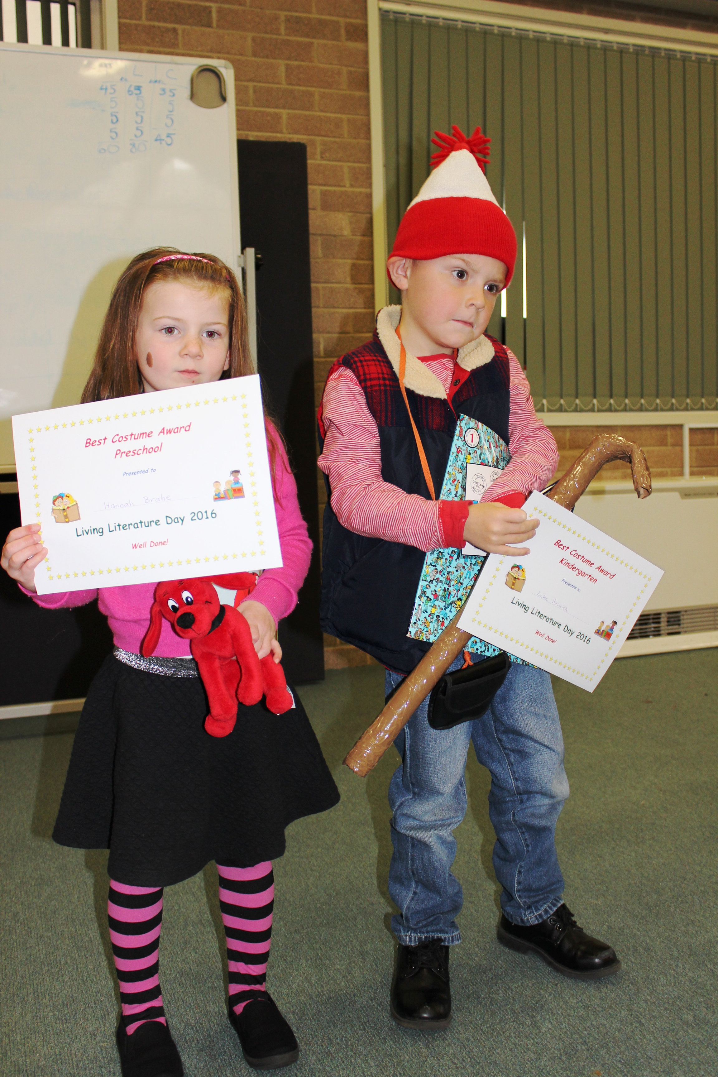 Preschool and Kind Winners