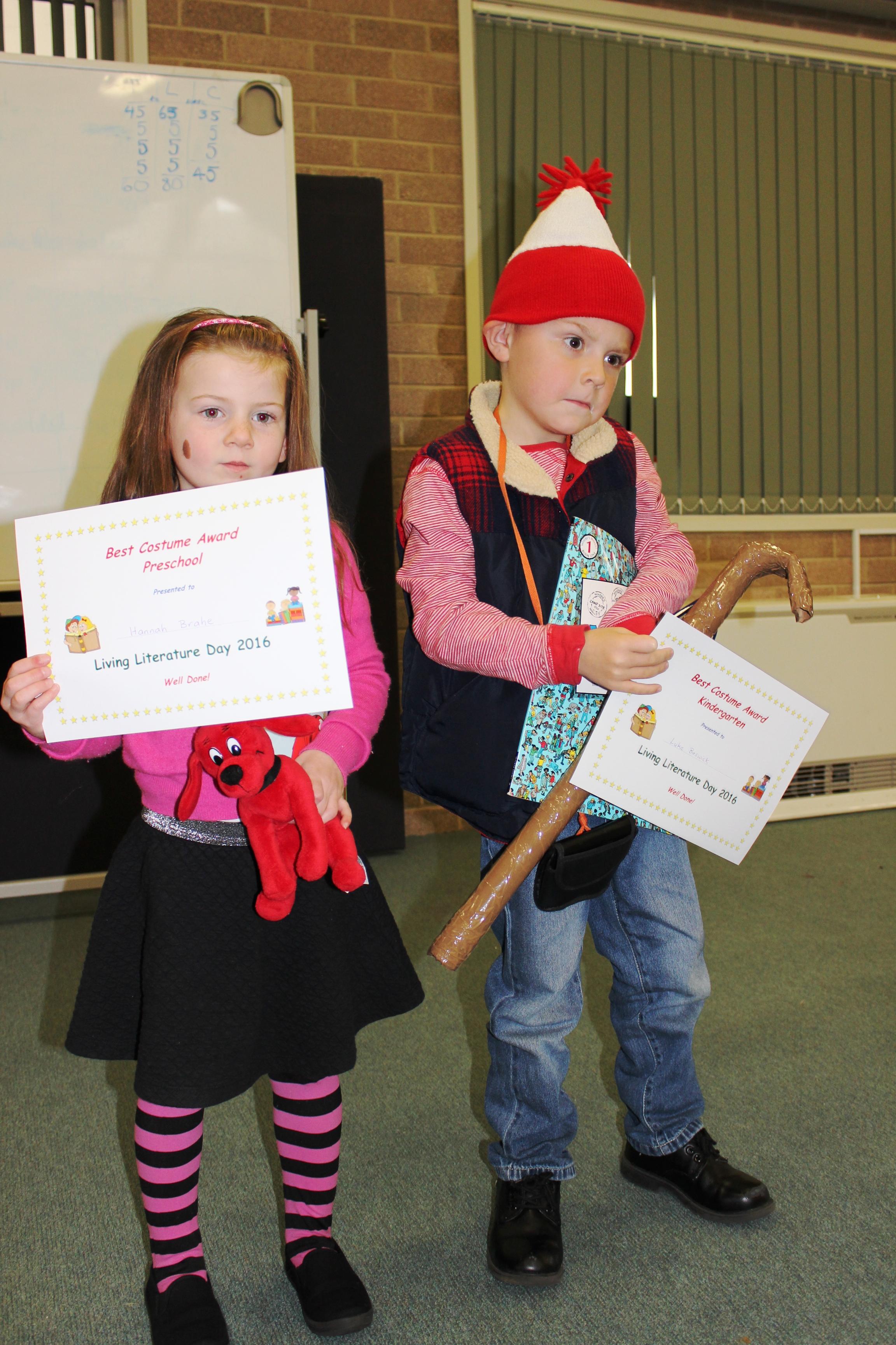 Preschool and Kind Winners