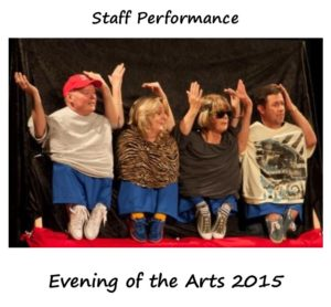 Staff Evening of Arts performance 2015